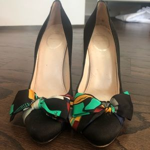 Silk Pucci Heels